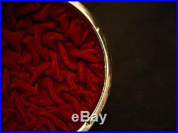 4 1/4 D MARKED Ando JAPANESE MEIJI PERIOD SILVER WIRE CLOISONNE BOX