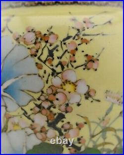 Antique 11 Meiji-Period Japanese Cloisonne musen-jippo vase by Namikawa Sosuke