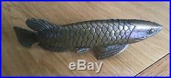 Antique Japanese Bronze Fish, Meiji Period (1868-1912)