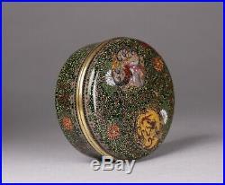 Antique Japanese Cloisonne Box Meiji Period Kogo Incense Container