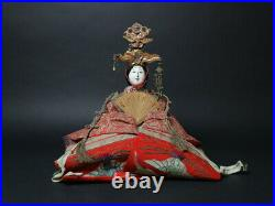 Antique Japanese Imperial Palace Doll Emperor & Empress Meiji Period