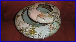 Antique Japanese Meiji Period Enamel Silver Wired & Unwired Cloisonne Butterflys