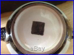Antique Japanese Satsuma 13 Piece Tea Set In Original Case. Meiji Period