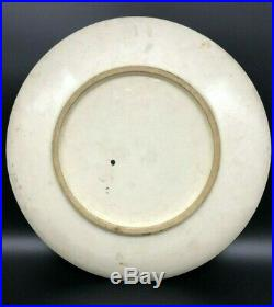 Antique Japanese Satsuma Charger Plate Meiji Period