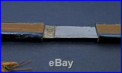 Antique Japanese Tanto Samurai Short Sword Edo / Meiji Period