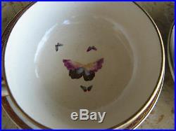Asian Antique Signed Japanese Meiji Period Kutani Porcelain 7 pc Tea Set