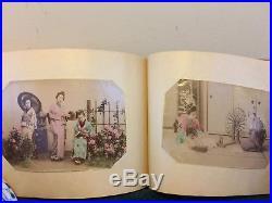 Beautiful Japanese Meiji Period Photo Album