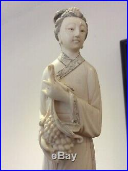 Exquisite Carved Meiji Period Japanese Figure