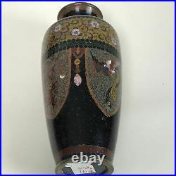 Fine Antique Japanese Meiji Period Cloisonne Vase 6