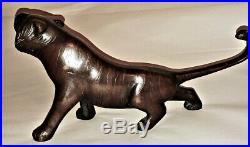 Fine Japanese Bronze Tiger Meiji Period 1868 1912