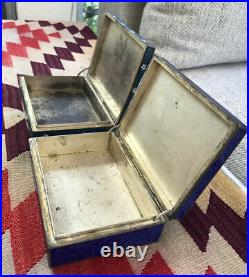 Finest Pair Of A+ Quality Rare Antique Japanese Cloisonne Box Meiji Period