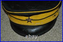 Former Japanese Imperial Army Military Cap Second Class Officer Meiji Era Period