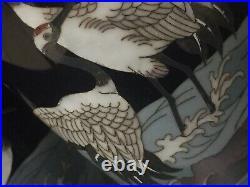 Ginbari Japanese Meiji Period Cloisonné Vases Antique Japanese Cloisonné X 2