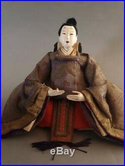 Hina Doll Japan meiji Period Asian japanese hina doll figurine Hinamatsuri Doll