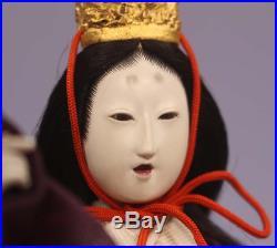 Japanese Antique Dancing Court Lady Gohun Doll 12 Meiji Period