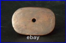 Japanese Antique Netsuke kappa folklore boxwood Wooden Meiji period NW129
