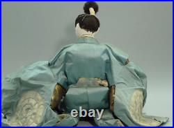 Japanese Antique Samurai Large Doll General Kato Kiyomasa Early Meiji Period