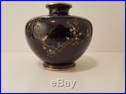 Japanese Cloisonne Meiji period vase Hayashi Kodenji or Namikawa Yasuyuki