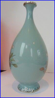 Japanese Cloisonne Vase Meiji Period