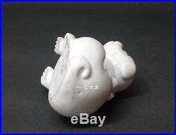 Japanese Hirado porcelain Water dropper Puppy shape Meiji period