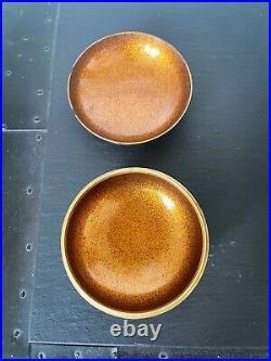 Japanese Lacquer Incense Kogo Box with Fine Maki-e Design Meiji Period