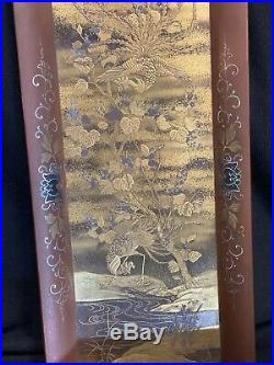 Japanese Lacquer Tray, Meiji Period