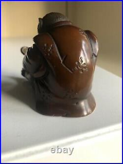 Japanese Meiji Period Bronze Okimono Monkey
