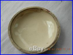 Japanese Meiji period Totai shippo cloisonné porcelain a lidded trinket pot