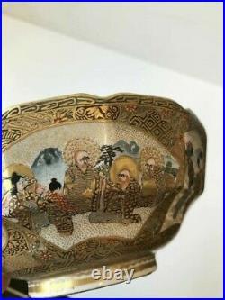 Japanese Meiji period satsuma bowl