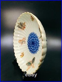 Japanese antique Ko-Imari plate come with original box era. Meiji period