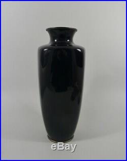 Japanese cloisonne Vase. Hayashi style. Meiji Period