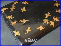Japanese lacquer ware Makie Lunch Box Meiji Period Bento box