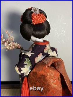 Meiji Period Japanese Beautiful Vintage Geisha Doll Sakura Rare From Japan FedEx