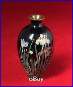 Meiji Period Japanese Cloisonne Vase by Gonda Hirosuke