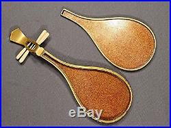 Meiji Period Japanese Gold Lacquer Biwa Box UNIQUE