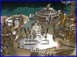 OLD JAPANESE VASE BOX STAND Meiji Period PURE SILVER 950 GOLD MIXED METAL MUSEUM