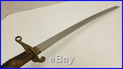 Rare Japanese Army Meiji Period Police Short Sword Dagger