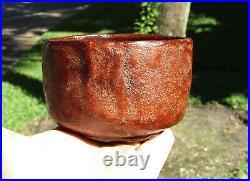 Rare Kanshitsu Chawan Meiji Period, Japanese Tea Bowl, Dry Lacquer