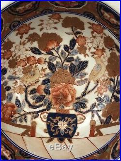 Stunning Antique Meiji Period Japanese Imari Porcelain Bowl 10 Impressive