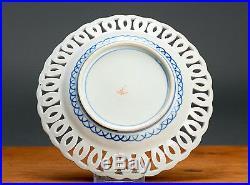 Superb & High Quality 19th Japanese Ajour Meiji Period Antique Imari Plate Japan