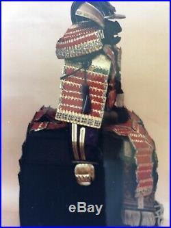 VINTAGE JAPANESE BOY'S DAY SAMURAI Suit of Armor Meiji period circa 1900