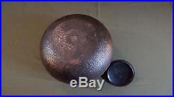 Very Fine Large Japanese Edo Meiji Period Bronze Chagame Set